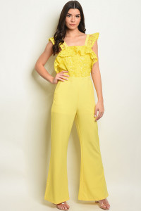 S23-6-3-J10678 YELLOW JUMPSUIT 2-2-2