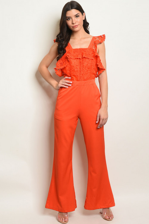 S23-6-4-J10678 ORANGE JUMPSUIT 2-2-2