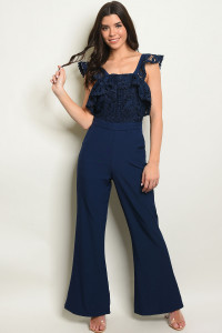 S24-3-4-J10678 NAVY JUMPSUIT 2-2-2