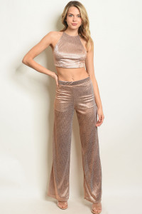 S17-2-5-SET5274 GOLD TOP & PANTS SET 1-1-1