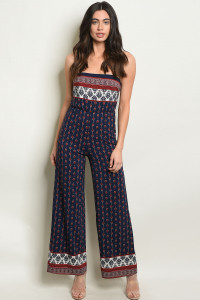C41-A-4-J170054 NAVY EARTH JUMPSUIT 2-2-1