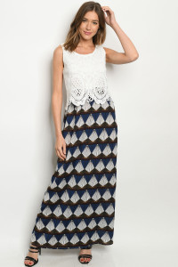 S11-16-2-D257 WHITE NAVY DRESS 2-2-2