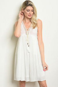 S20-12-2-D40610 OFF WHITE DRESS 2-1-1