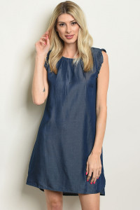 S25-7-5-D2703 DENIM DRESS 1-2-2-1