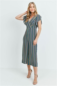 S21-7-1-J71878 NAVY BLUE STRIPES JUMPSUIT 3-2-1