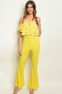 S19-5-4-J08969 YELLOW JUMPSUIT 2-2-2