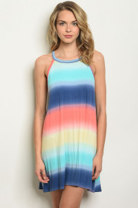 S11-16-1-D17981 MULTI COLOR DRESS 2-2-2