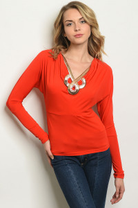 S18-13-3-T2376 RED GOLD TOP 3-2-2