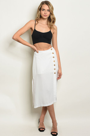 S12-11-3-S50562 OFF WHITE SKIRT 3-2-1