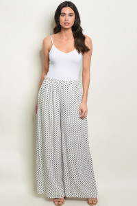 S23-4-1-P700100 OFF WHITE NAVY WITH DOTS PANTS 2-2-2