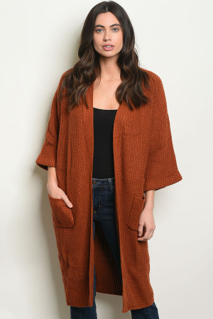 S10-7-1-C1204 EARTH CARDIGAN 3-2-1