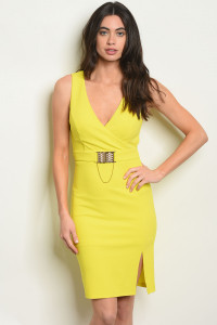 S18-13-1-D5298 YELLOW DRESS 2-2-2
