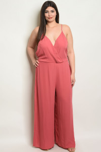 C48-A-2-J6482X ROSE PLUS SIZE JUMPSUIT 2-3