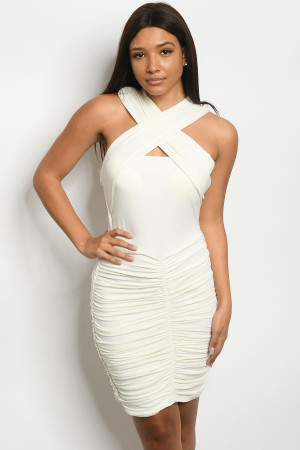 S5-2-1-NA-D3301 OFF WHITE DRESS 2-2-2
