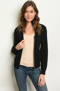S13-4-1-S3045 BLACK SWEATER 3-2-1