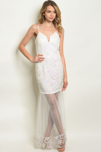 S17-10-4-D07933 WHITE WITH SEQUINS DRESS 1-1-1