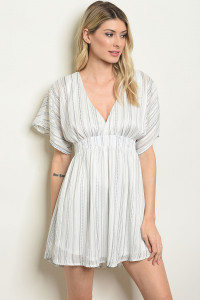 SA3-000-1-D59508 NAVY STRIPES DRESS 2-2-2