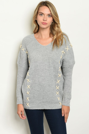 S7-3-1-NA-S20212 GRAY SWEATER 2-2-2