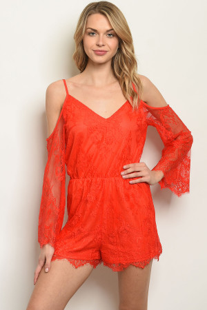 b53733391ce Quick View this Product S16-4-5-NA-R74180 ORANGE ROMPER 2-2-2