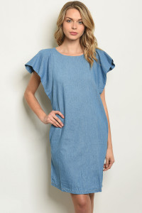S7-10-4-D1518 LIGHT BLUE DENIM DRESS 2-2-2