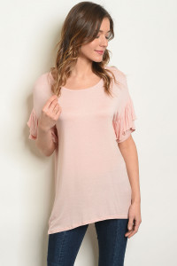 S9-3-4-T4921 BLUSH TOP 2-2-2