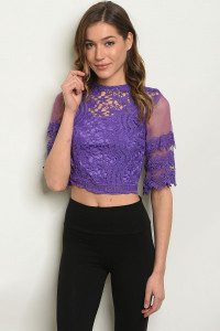 S23-10-6-T2412 PURPLE TOP 2-2-2