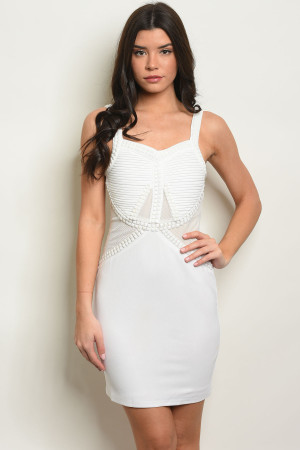 S24-4-5-D1262 OFF WHITE DRESS 2-2-2
