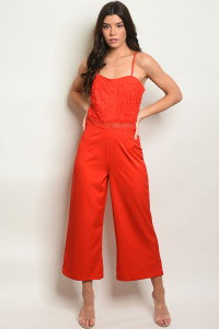 S8-7-2-J10693 RED JUMPSUIT 2-2-2