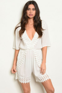 S7-10-2-R1721 OFF WHITE ROMPER 2-2-2