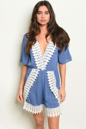 S7-9-1-R1721 BLUE WHITE ROMPER 2-2-2