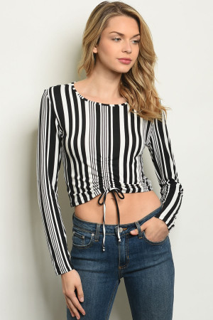 S6-7-1-T6059 BLACK STRIPES TOP 1-2-2-1
