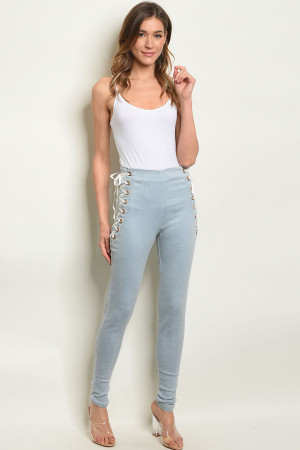 S6-7-1-P21511 LIGHT BLUE DENIM PANTS 2-2-2