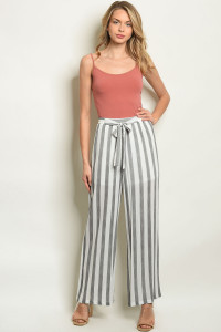 S16-9-2-P50004 GRAY STRIPES PANTS / 3PCS