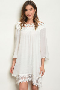 S23-13-2-D9353 OFF WHITE DRESS 2-1