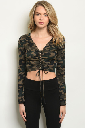S13-12-4-T6070 CAMOUFLAGE TOP 1-2-2-1