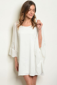 S19-12-2-D958 OFF WHITE DRESS 3-2