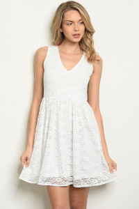 S16-7-2-D5053 OFF WHITE DRESS 3-2-1