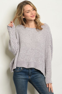 S14-10-4-S0092 GRAY SWEATER 3-2-1