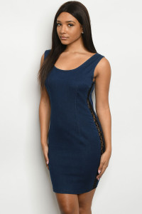 S23-12-3-D0168 BLUE DENIM DRESS 2-2-2