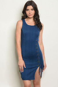 S17-9-1-D1040 BLUE DENIM DRESS 1-1-1