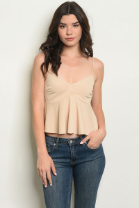 C45-B-1-T11701 TAUPE TOP 1-1-2