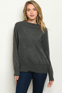S17-12-5-S70372 CHARCOAL SWEATER 2-1