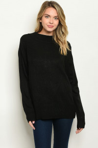 S13-3-1-S70372 BLACK SWEATER 4-2