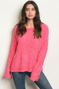 S13-4-2-S70464 PINK SWEATER 4-2