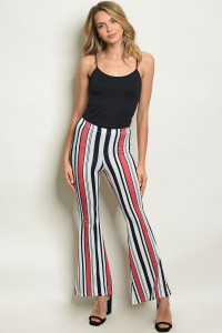 S15-11-3-P3219 NAVY STRIPES PANTS 2-2-2