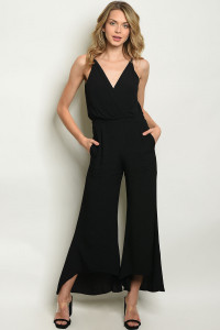 S12-12-2-J106 BLACK JUMPSUIT 3-2-1