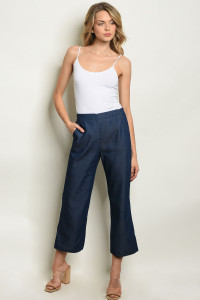 S11-12-1-P8195 NAVY DENIM PANTS 3-2-1
