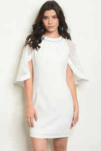 S10-19-3-D73857 OFF WHITE DRESS 2-2-2