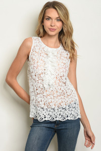 S13-12-5-T73524 OFF WHITE TOP 3-2-1