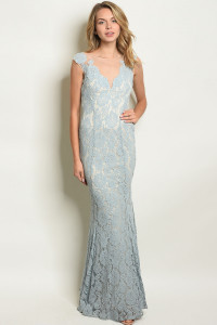 S11-5-1-D24824 BLUE NUDE DRESS 2-2-2